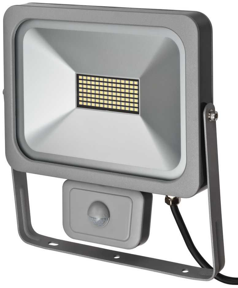 Naświetlacz Brennenstuhl Slim LED-Strahler L DN 9850 FL, PIR, IP54 (1172900501) 1