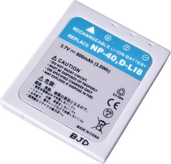 Akumulator Avacom zamiennik NP-40, Li-Ion 3.7V, 800mAh, 3Wh (DIFU-NP40-532) 1