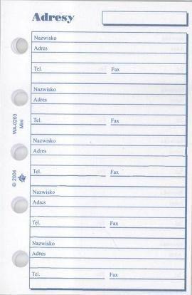 Antra Wkład do organizera M Adresy (270099) 1