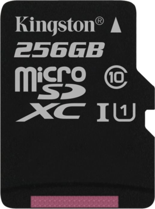 Karta Kingston MicroSDXC 256 GB Class 10  (SDCS/256GBSP                   ) 1