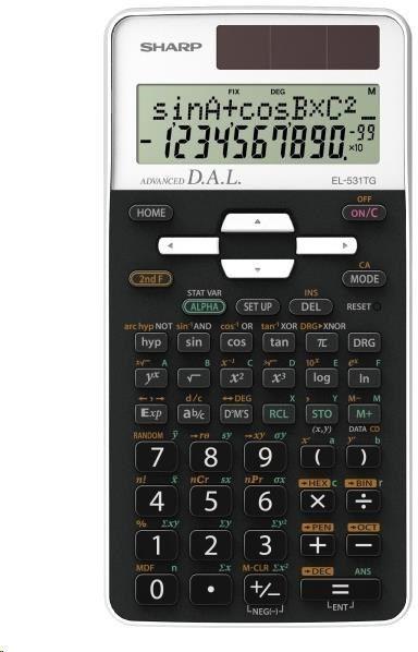 Kalkulator Sharp EL531TGWH (SH-EL531TGWH) 1
