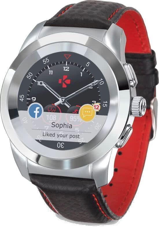 Smartwatch MyKronoz Czarno-czerwony  (KRZT1RP-PSL-BKCAR) 1