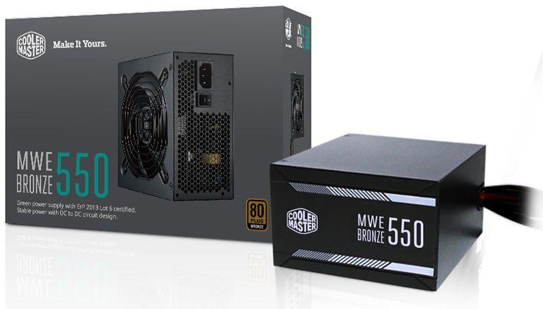 Zasilacz Cooler Master MasterWatt 550W (MPX-5501-ACAAB-EU) 1