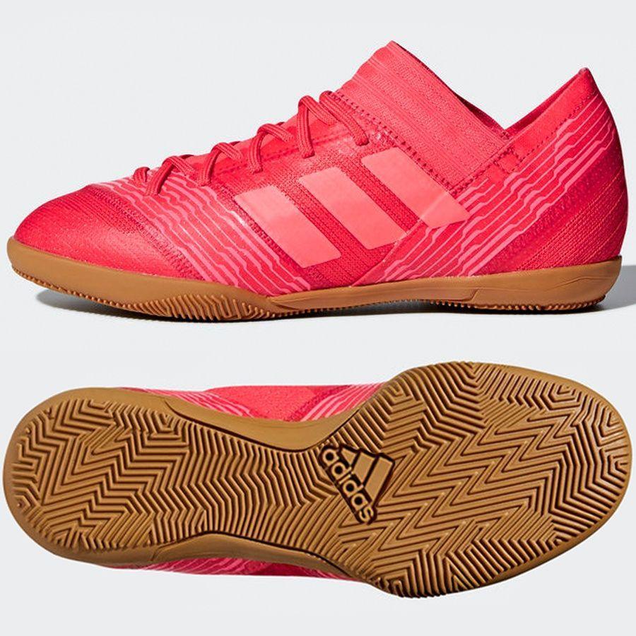 Adidas Buty piłkarskie Nemeziz Tango 17.3 IN Jr czerwone r. 37 13 (CP9183) ID produktu: 1774351