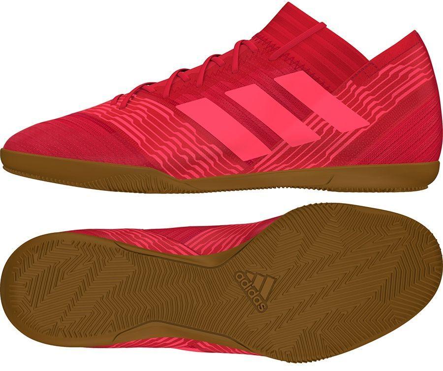 Adidas Buty piłkarskie Nemeziz Tango 17.3 IN czerwone r. 46 2/3 (CP9112) 1