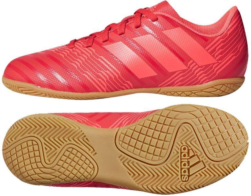 Adidas Buty piłkarskie Nemeziz Tango 17.4 IN J czerwone r. 38 23 (CP9222) ID produktu: 1774389