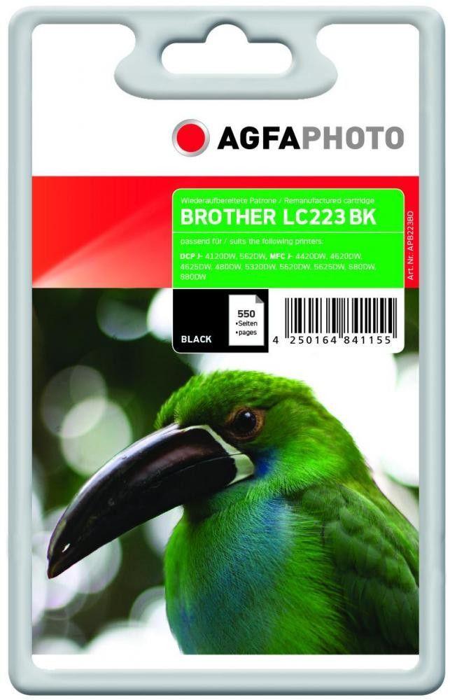 AgfaPhoto Tusz APB223BD / LC-223BK (Black) 1