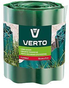 Verto Obrzeże do trawników 15 cm x 9 m, zielone - 15G511 1