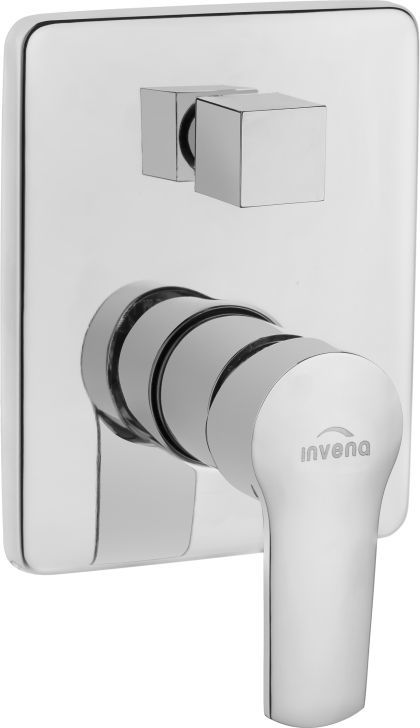 Bateria prysznicowa podtynkowa Invena Verso chrom (BP-82-0K2-A) 1