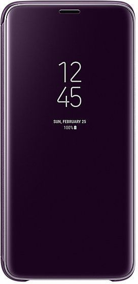 Samsung S9 Clear View Standing Cover Purple EF-ZG960CVEGWW 1