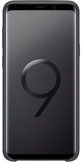 Samsung S9+ Silicone Cover Black EF-PG965TBEGWW 1