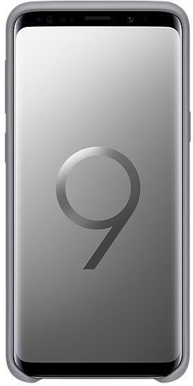 Samsung S9 Silicone Cover Gray EF-PG960TJEGWW 1