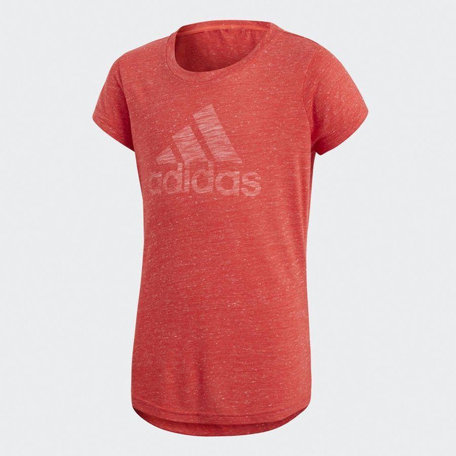 Adidas Koszulka dziewczęca YG ID Fabr Tee czerwona r. 170 cm (CF6739) ID produktu: 1783206