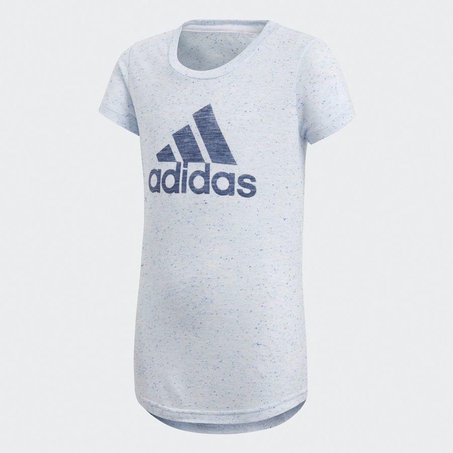 Adidas Koszulka dziewczęca YG ID Fabr Tee szara r. 170 cm (CF6740) ID produktu: 1783218