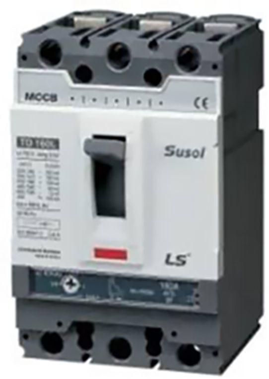 LSiS Wyłącznik mocy 400A 3P 50kA kompletny (TS400N FMU 400A 3P) 1