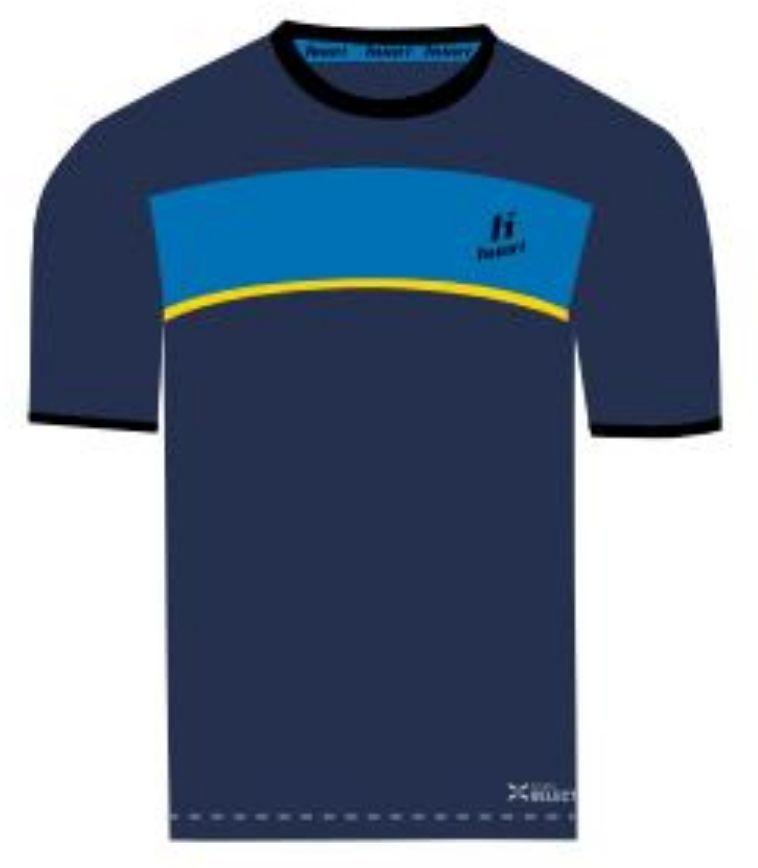 Huari T shirt juniorski Lopez Kids T shirt Medieval Blue French Blue Cyber Yellow r. 128 ID produktu: 1786646