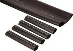 3M Rura termokurczliwa 12mm 3mm 1000mm czarna HDT-A 12/3 (TE100037437) 1