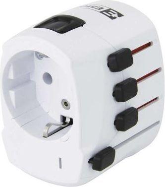 Emos Adapter podróżny World Travel Pro+ 100V-250V 10A (P0056) 1