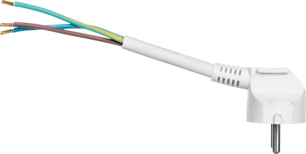 Emos Przewód przyłączeniowy H05VV-F 3x1,5 3m biały S14323 - S14323 1