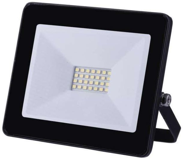 Naświetlacz Emos Projektor LED HOBBY SLIM 20W 1600lm 4000K IP65 czarny (ZS2221) 1