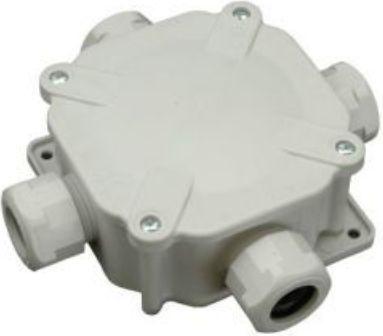 SEZ Puszka 90 x 90mm IP67 4 dławnice (6455-11P) 1