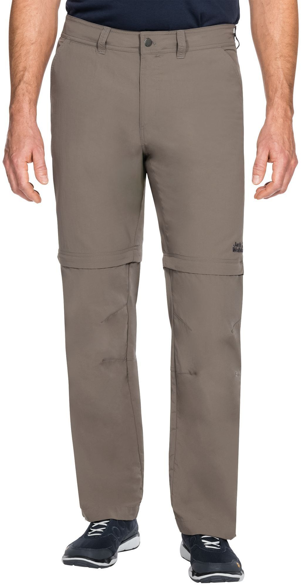 Jack Wolfskin Spodnie męskie CANYON ZIP OFF PANTS Siltstone r. 52 (1504191) 1