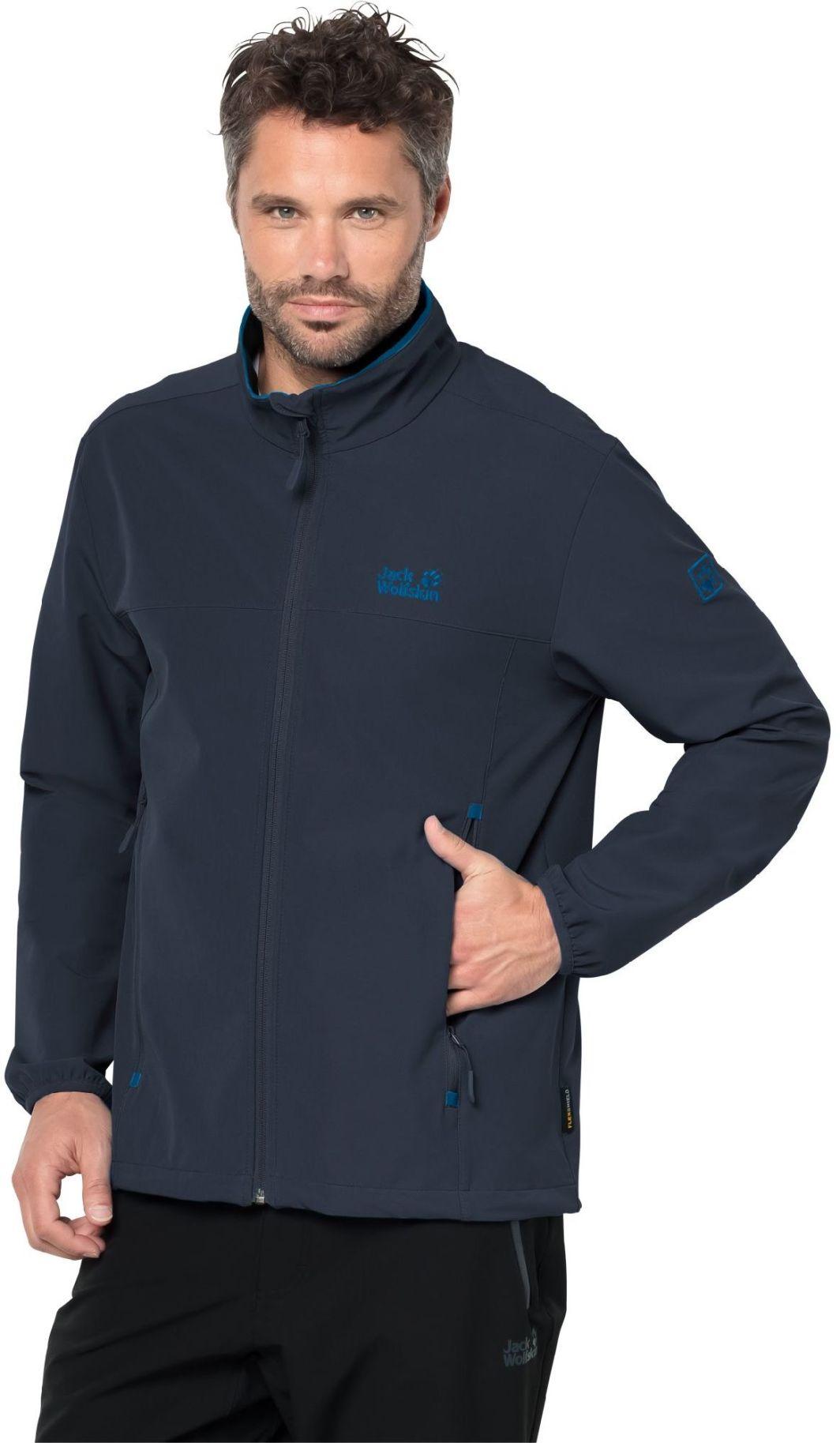 przejść do trybu online gładki ekskluzywne buty Jack Wolfskin Kurtka męska CRESTVIEW JACKET MEN Night Blue r. L (1305471)  ID produktu: 1787587