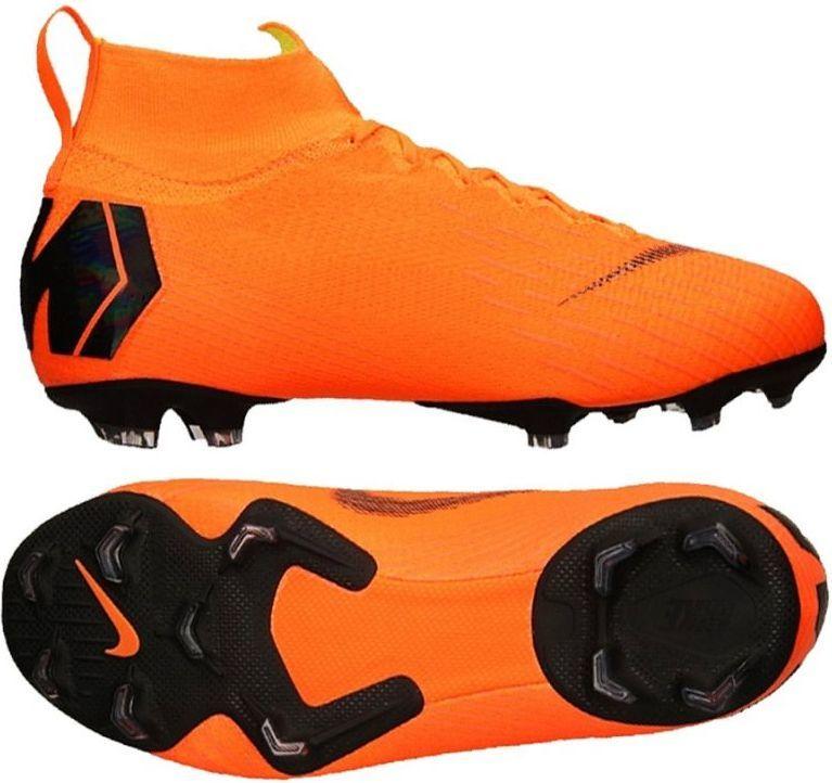 1d8e13037 Nike Buty juniorskie Mercurial JR Superfly 6 Elite FG pomarańczowe r. 37  1/2 (AH7340 810) w Sklep-presto.pl