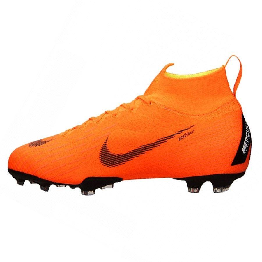 27a8a9dfb Nike Buty piłkarskie Mercurial JR Superfly 6 Elite FG pomarańczowe r. 38  1/2 (AH7340 810) w Sklep-presto.pl