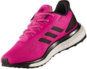 Szary Różowy Kobiety Adidas Response Boost Tech Buty Do
