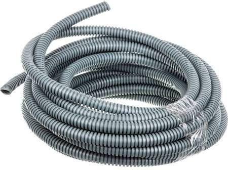 ITAline Rura karbowana 750N mrozoodporna -25st. C szara PVC fi16 10m (ITA750N1610-25CG) 1