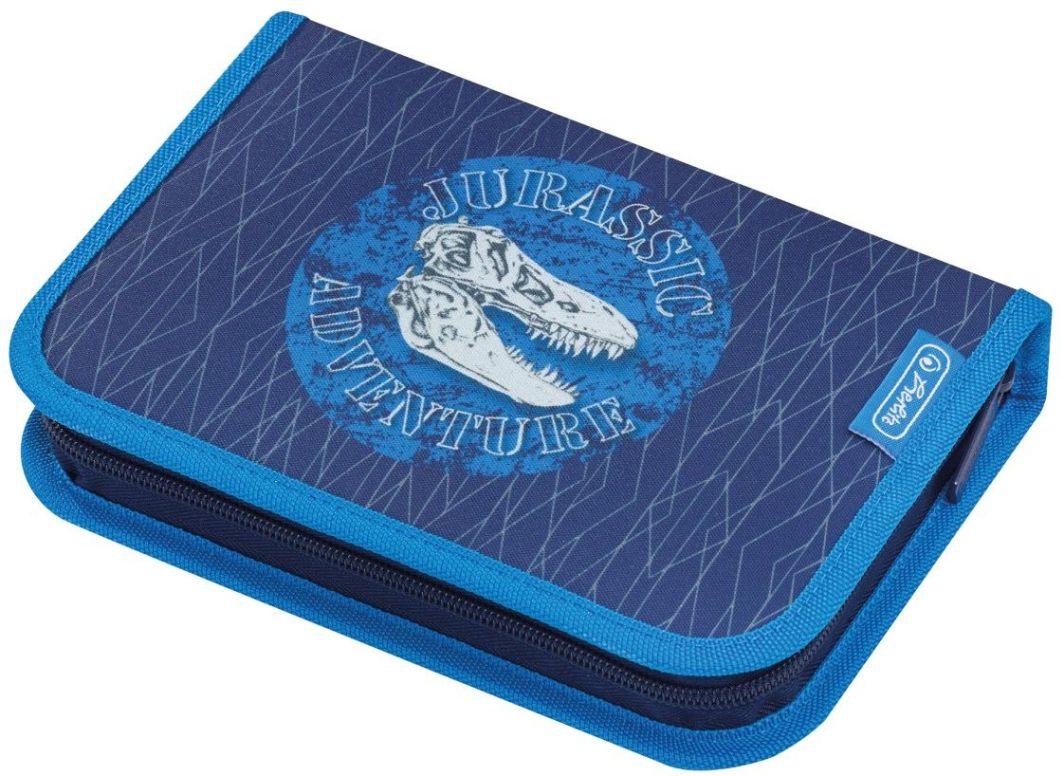 Piórnik Herlitz Piórnik z wyposażeniem Blue Dino (50014385) 1