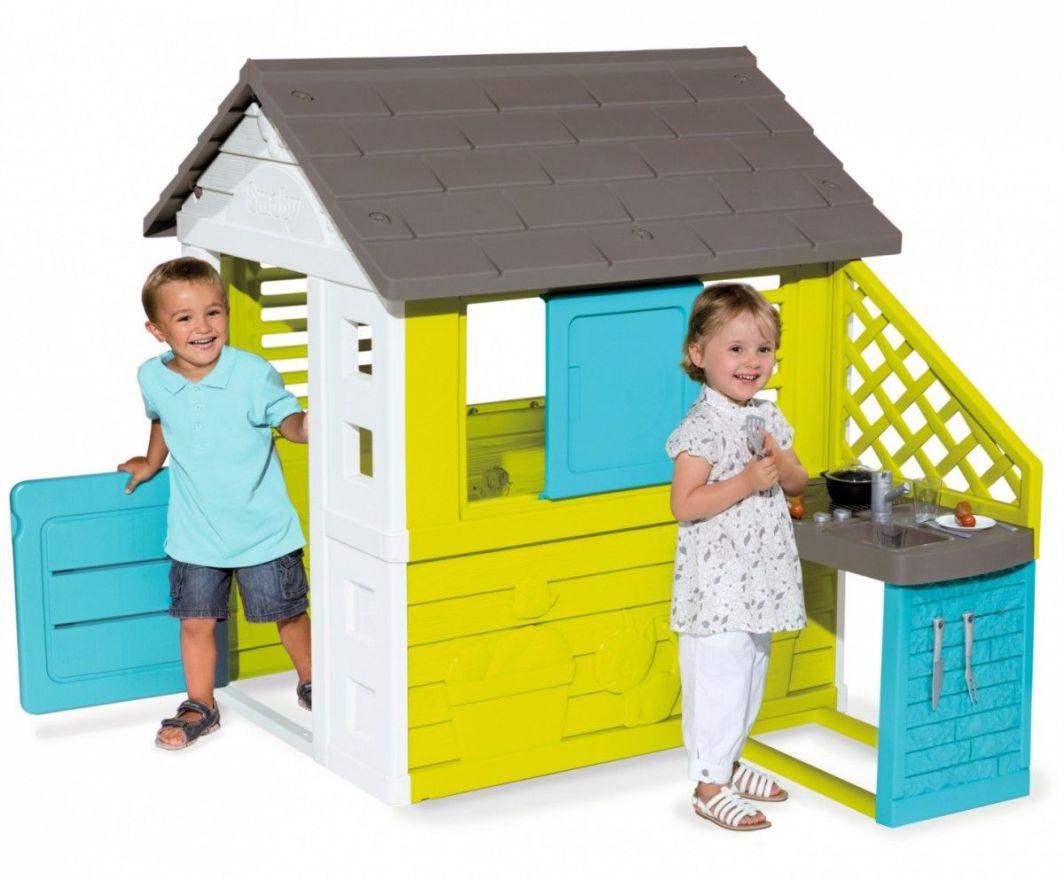 Smoby Domek Pretty Z Kuchnią 810703 Id Produktu 1792136