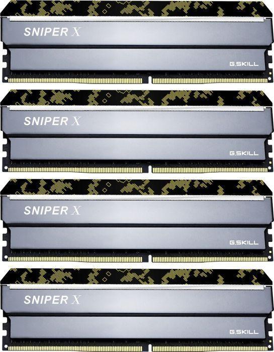 Pamięć G.Skill Sniper X, DDR4, 64 GB, 3000MHz, CL16 (F4-3000C16Q-64GSXKB) 1