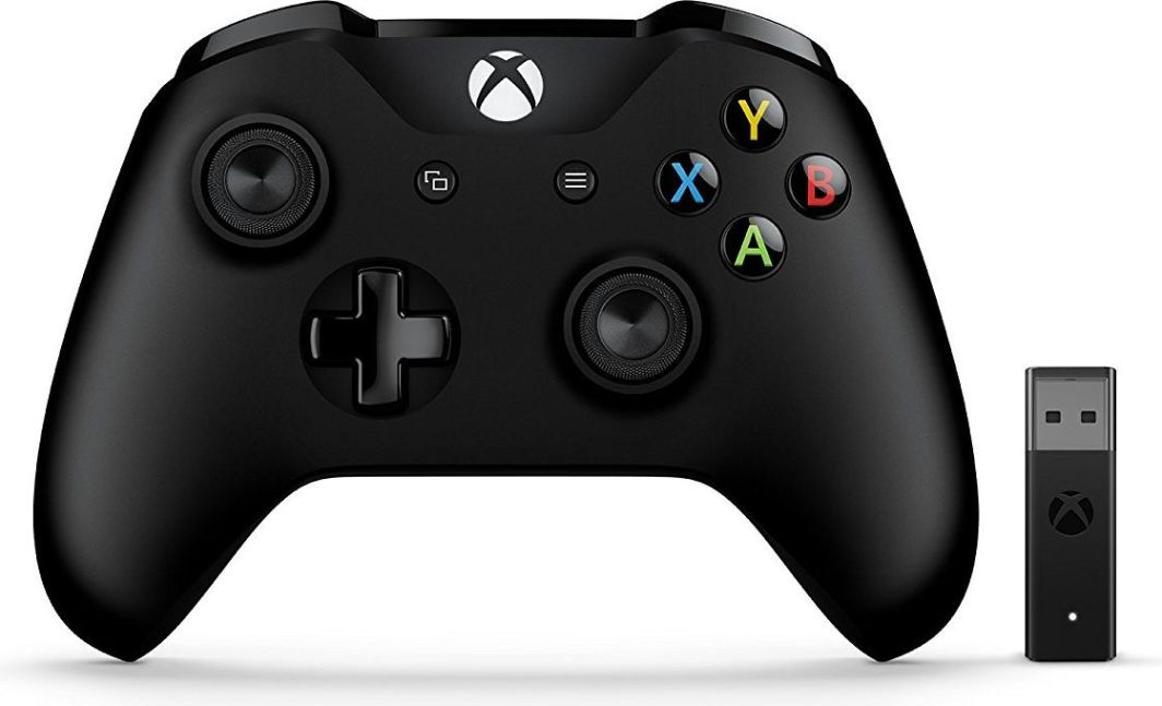 Gamepad Microsoft Xbox One Kontroler Bezprzewodowy + Adapter (4N7-00002) 1