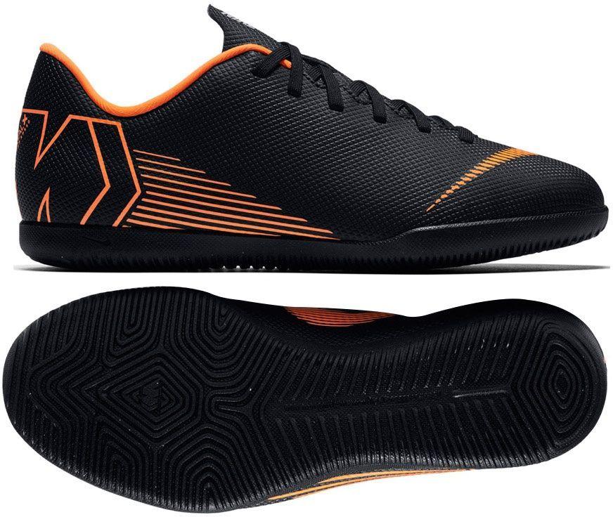 Buty Puma Universal II Indoor CzarneBiałeŻółte