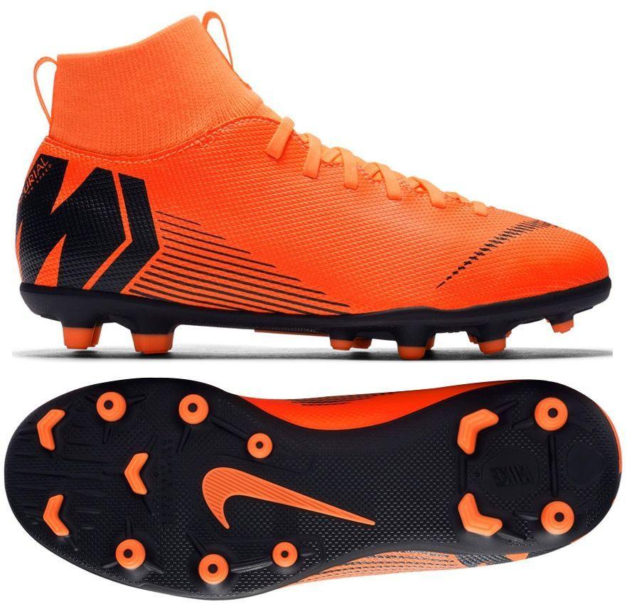timeless design a2cca e81b1 Nike Buty piłkarskie Mercurial JR Superfly 6 Club MG pomarańczowe r. 34  (AH7339 810) w Sklep-presto.pl