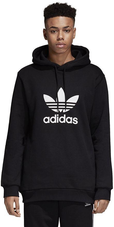Adidas Bluza męska Originals Trefoil Warm Up czarna r. XL (CW1240) ID produktu: 1792937
