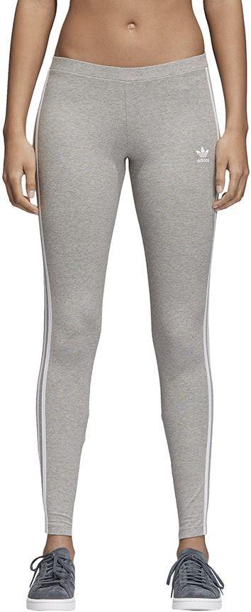 najlepszy dostawca jak kupić szalona cena Adidas Legginsy damskie Originals 3-STRIPES szare r. 34 (CY4761) ID  produktu: 1793084