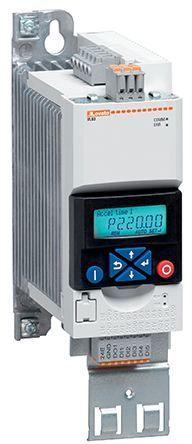 LOVATO Electric Falownik 3 fazowy 0,4kW Uwe=3x400-480V, Uwy=3x400-480V/1,3A filtr EMC (VLB30004A480) 1