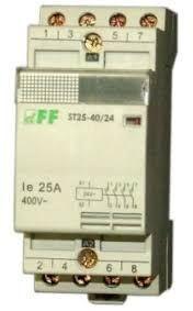 F&F Stycznik modułowy 25A 2Z 24V AC (ST25-20/24) 1