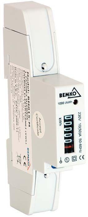 Bemko Licznik energii elektrycznej 1 fazowy 10-50A mechaniczny (A30-BM015-M) 1