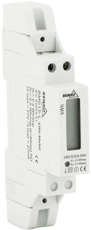 Bemko Licznik energii elektrycznej 1 fazowy 10-50A (A30-BM015-L) 1
