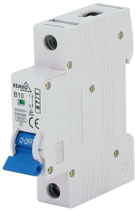 Bemko Wyłącznik nadprądowy 1P C 25A (A00-S7-1P-C25) 1