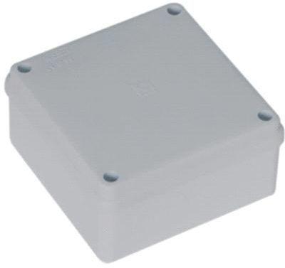 Pawbol Puszka n/t hermetyczna 100x100x50 bez dławików IP56 biała (S-BOX 116B) 1