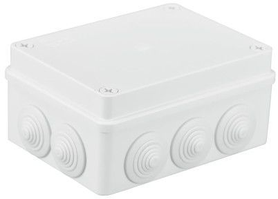 Pawbol Puszka n/t hermetyczna 150x110x70 10 dławików IP55 biała (S-BOX 306B) 1