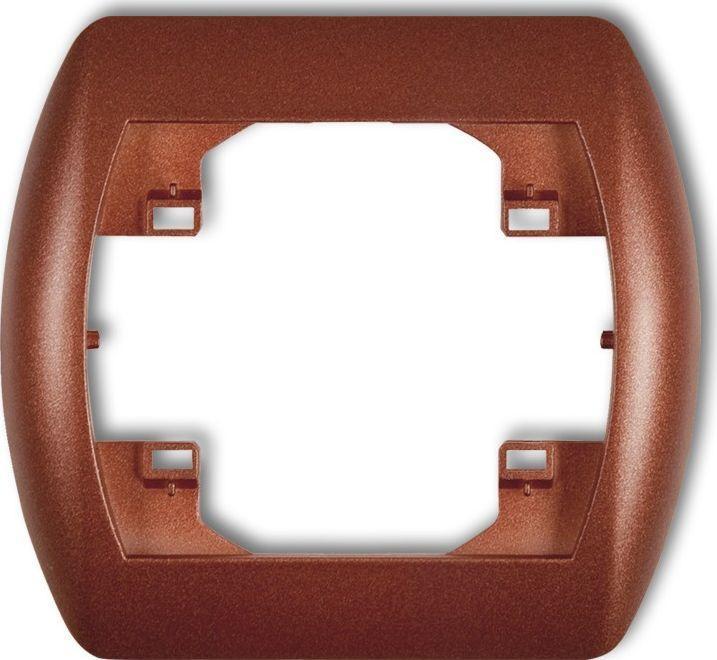 Karlik Trend Ramka pozioma pojedyncza brązowy metalik (9RH-1) 1
