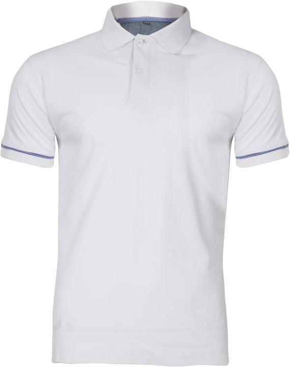 LAHTI Koszulka bawełniana polo biała XL (L4030804) 1