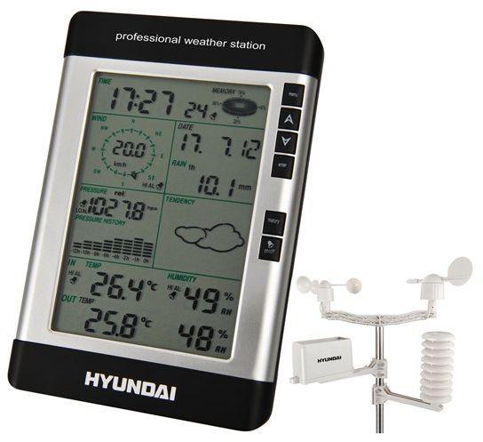Stacja pogodowa Hyundai Meteo Hyundai (WSP 3080 R WIND) 1