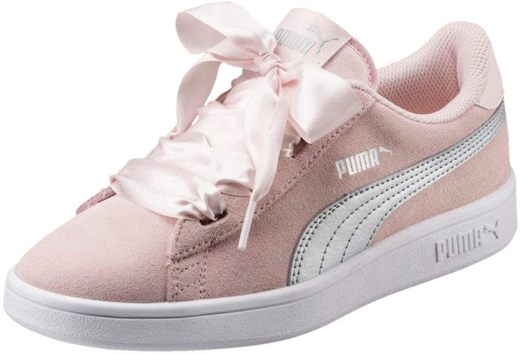 Puma Buty dziewczęce Smash v2 Ribbon JR różowe r. 39 (366003 02) ID produktu: 1805305